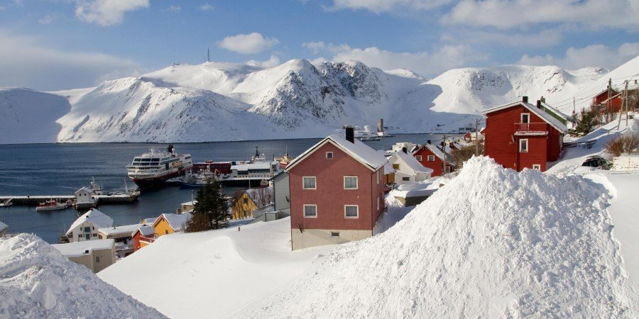 The port of Honningsvåg