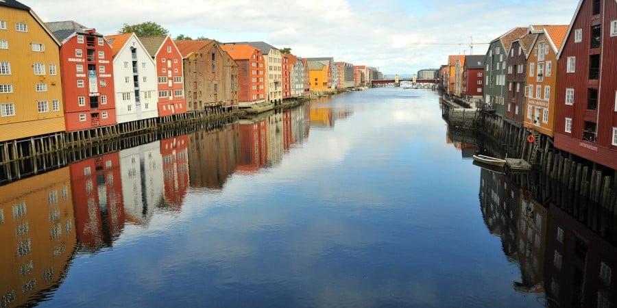 Trondheim, the docks