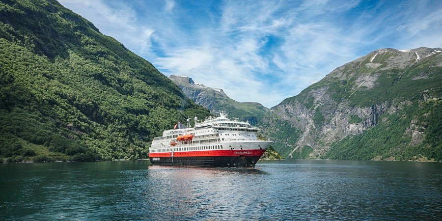 Image result for hurtigruten cruises ms finnmarken