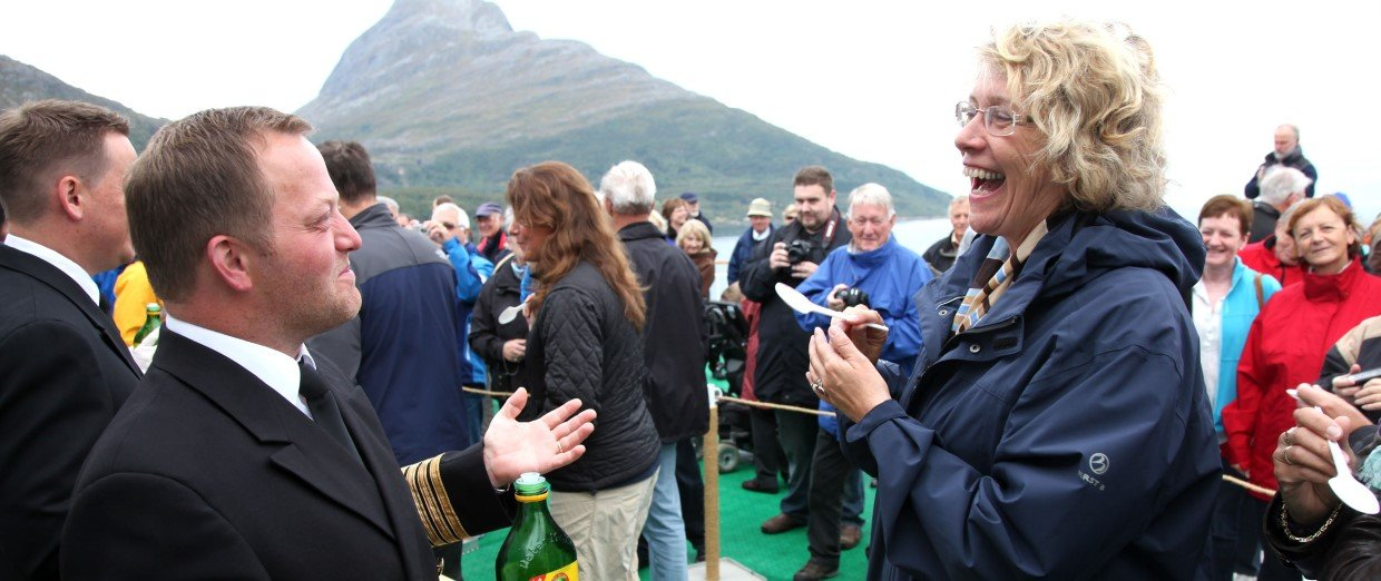 Arctic Circle Ceremony – southbound voyage.