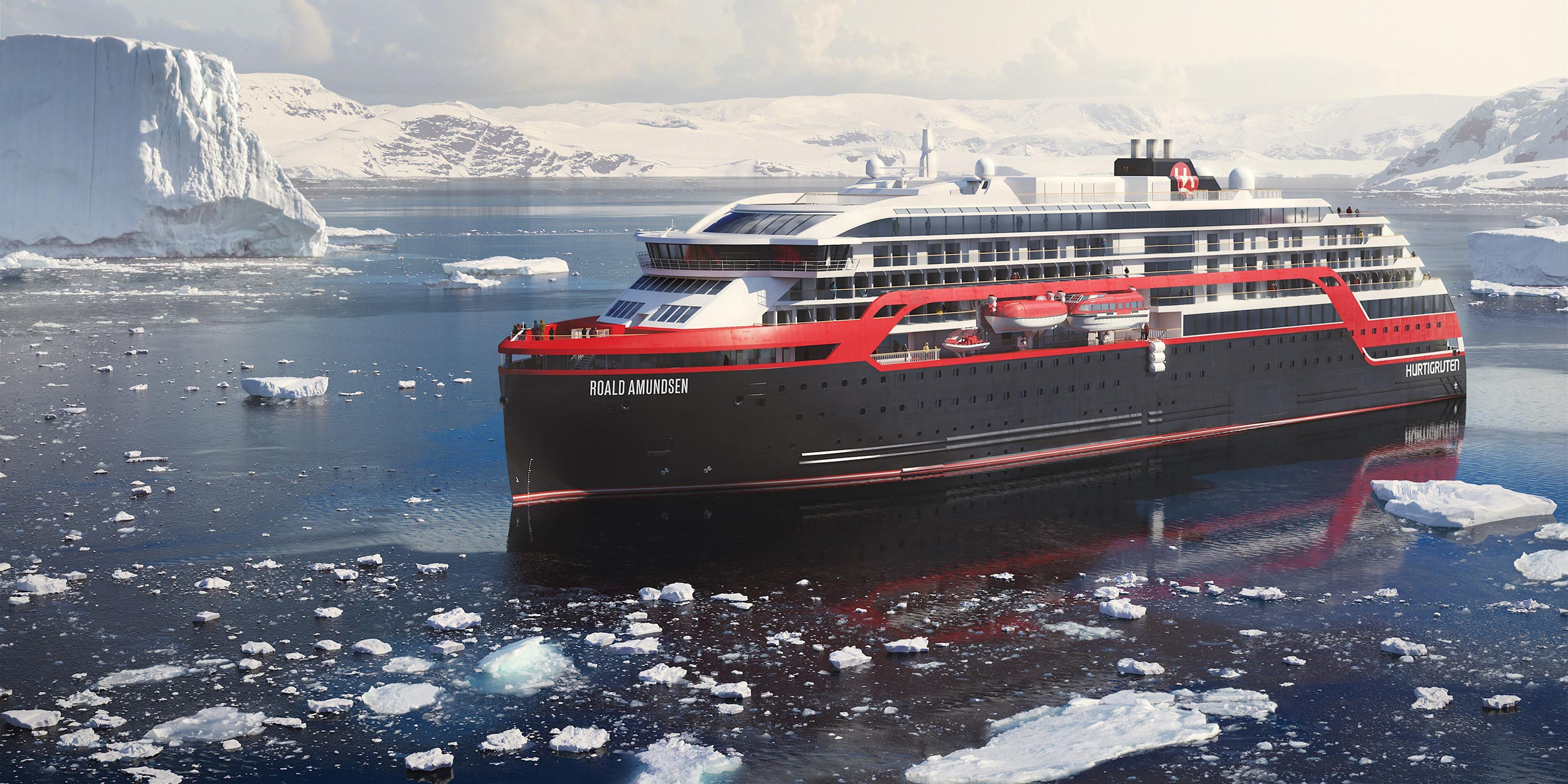 Our Ships MS Roald Amundsen Hurtigruten US - Cruise ship that lost power 2018