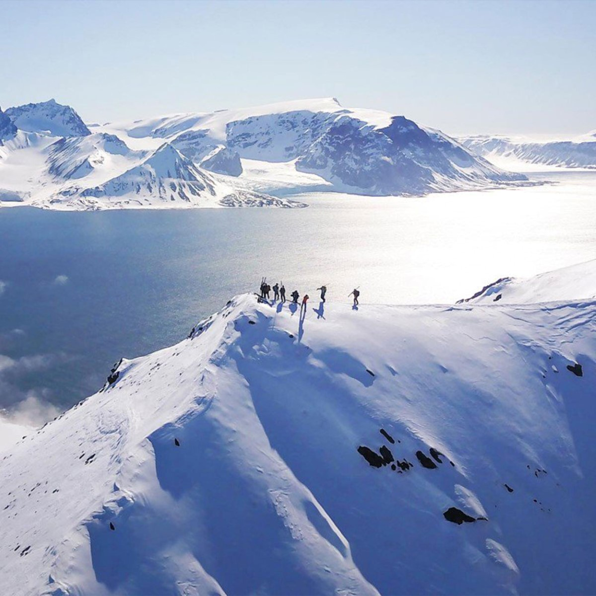 Ski Touring Cruise In Svalbard Arctic Ski Amp Sail 2018