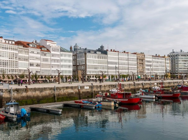 A Coruña, Spain. Explore the diverse European coastline at a relaxed pace, waking up in your comfortable cabin every morning knowing that you are in for a new and interesting adventure.
