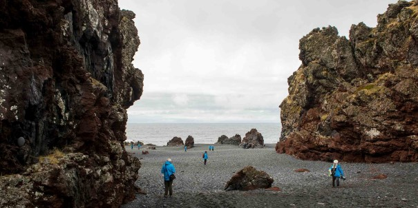 Experience a variety of islands, towns and settlements, spectacular views and interesting sites in Iceland, accompanied by our knowledgeable expedition team.