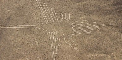 Geoglyphs are pictures carved into rock, and some of the world´s most spectacular are found at San Martin.  Known as the Nazca Lines, the largest of the figures is over 300 m and as such is best viewed from above!